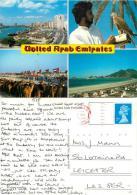 UAE Postcard Posted 1990 Stamp - United Arab Emirates