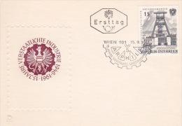 Austria 1961 Arphila 15th Anniversary Souvenir Cover - Austria
