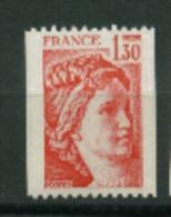 France N° Rouge 2063 A Neuf  XX  Cote Dallay   4,00  €uro  Au Tiers De Cote - Roulettes