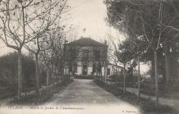 CPA Algérie - Telagh - Maison Et Jardin De L'Administrateur - Andere Städte