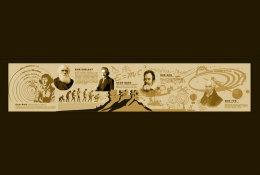 [ T06-046 ] Nicolaus Copernicus Albert Einstein Galileo Galilei Charles Darwin,China Pre-stamped Card, Postal Stationery - Astronomùia