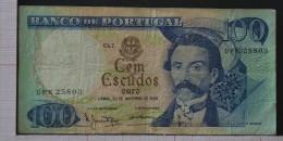 PORTUGAL  100  ESCUDOS  1965  (30-11-1965)   -    (Nº05981) - Portogallo