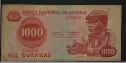 ANGOLA  1000  KWANZAS  1979     -    (Nº05992) - Angola