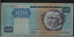 ANGOLA  1000  KWANZAS  1987     -    (Nº05994) - Angola