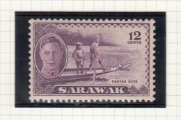 KING GEORGE VI - 1950 - Sarawak (...-1963)