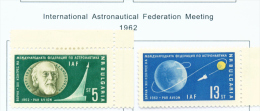 BULGARIA  -  1962  Air  Astronautics Congress  Mounted Mint - Neufs