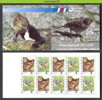 Mwv018 FAUNA VOGELS HUISMUS BIRDS VÖGEL AVES OISEAUX *BOOKLET* FAROER FOROYAR 1999 PF/MNH - Birds