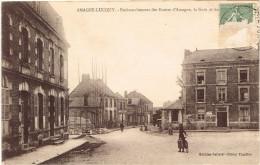 ARDENNES 08.AMAGNE LUCQUY  EMBRANCHEMENT DES ROUTES D AMAGNE LA GARE