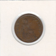 1/2 PENNY 1928 - 1902-1971 : Monnaies Post-Victoriennes