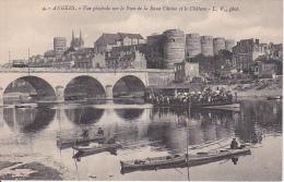 CPA Angers - Vue Générale Sur Le Pont De La Basse Chaise Et Le Château (2341) - Angers