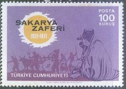 TURKEY 2234** BATTLE OF SAKARYA_50th ANNIV - Ungebraucht