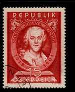 Österreich 965 Martin Johann Schmidt   Used Gestempelt (3) - 1945-.... 2a Repubblica