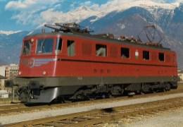 SUISSE : Chemins De Fer Fédéraux Suisses SBB-CFF - Locomotive électrique Ae 6/6  11422 - Détails 2ème Scan - Trains