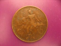 France - 5 Centimes 1900 - Dupuis - B+ - C. 5 Centimes