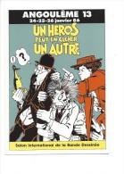 Affiche Du 13e Salon D´Angoulême 1986 Par Jacques Tardi - Fumetti