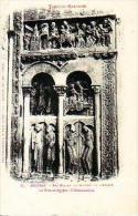 Moissac   32           Bas Relief Du Porche De L'église. La Fuite En Egypte. L'annonciation ( Nuageuse )    . - Moissac