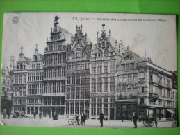 Anvers, Maisons Des Corporations De La Grand'Place, Animation   E - Antwerpen