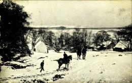 Swanston In Winter  1907   Y&T 107    EDINBURGH -> GAND (Gent) Belgium - Midlothian/ Edinburgh