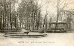 N°37442 -cpa Alençon -lles Promenades , Le Kiosque- - Alencon