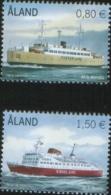 Aland 2011 Navi Ships  Passeger Ferries (M/S Alandia E M/S Apollo) 2v Complete Set ** MNH - Aland