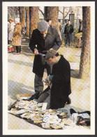 """CPM 75 - PARIS - Février 1989 """"Les Pieds Humides"""" - 5 ème Anniversaire De L'Aventure Carto - France"""