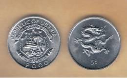 LIBERIA - 5 Cents  2000  KM474 - Liberia