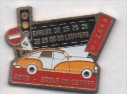 Auto Ecole Du Centre , Evreux  , Louviers , Eure - Non Classés