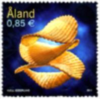 Aland 2011 Potato Chips  1v Complete Set ** MNH - Aland