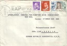 Spanien / Spain - Umschlag Echt Gelaufen / Cover Used  (x360) - 1981-90 Cartas