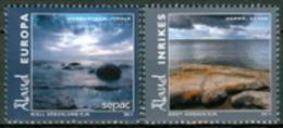 Aland 2011 Aland Scenary (Hamno,Kokar - Hammarudda,Jomala) 2v Complete Set ** MNH - Aland