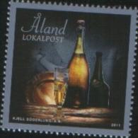 Aland 2011 Champagne 1v Complete Set ** MNH - Aland