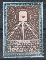 Vignette: Esposizione Fotografia Ottica Cinematografia Turin 1923 ( Exposition Photographie Optique Cinématographe) - Cinema