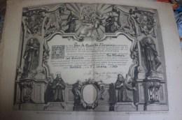 7787. Documento Aceptacion Hijo Espiritual SARRIA (Barcelona) 1933 - Historical Documents