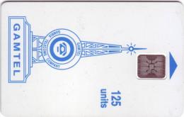 """Télécarte De GAMBIE  """" GAMTEL"""" 125Uniés      Vide- état TB  N° De Lot:C45100827 - Gambie"""