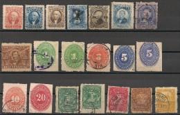 Mexique. 1864-1899. Entre N° 13 Et 186. Oblit. - Mexiko