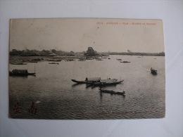 Postcard/Postal - Annam - Hué - Rivière Et Marché - Vietnam