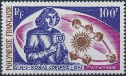 Copernicus Copernic 1973 French Polynesia #164 MNH ** Space Planets - Space