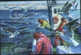 Aland 2012 Norden Life Of Sea Miniature Sheet 1v Complete Set ** MNH - Aland