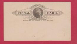 USA //  ENTIER POSTAL  // VIERGE - ...-1900