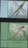Aland 2012  Dragonflies (Southern Hawker , Ruddy Darter) 2v Complete Set ** MNH - Aland