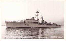 """Escorteur D´Escadre """"Chevalier Paul"""" - Carte-photo - Warships"""