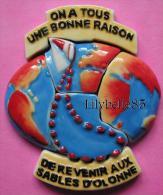 Serie Complère De 6 Feves Perso En Porcelaine - VENDEE GLOBE 2001 ( Feve ) - Pays