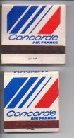 REF AA  : Pochette D'Allumettes Matches Collection Air France 2 Formats MERIDIEN CONCORDE - Boites D'allumettes