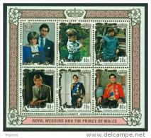 """-Penrhyn Island-1981-""""Royal Wedding"""" MH (*) - Penrhyn"""
