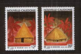 Neukaledonien 901-02 ** Traditionelle Häuser  // Nouvelle Caledonie (1991) - Neukaledonien