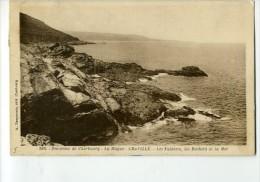 CP50330 - Environs De Cherbourg - La Hague - GREVILLE - Le Falaises, Les Rochers Et La Mer - Otros Municipios