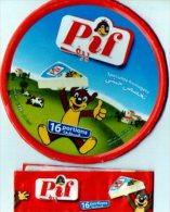 """Etiquette De Boite De Fromage """"PIF"""" - Fromage"""