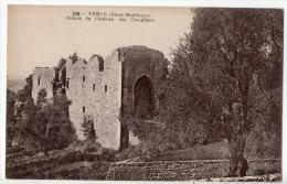 06 - VENCE . RUINES DU CHÂTEAU DES TEMPLIERS - Réf. N°308 - - Saint-Martin-Vésubie