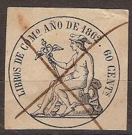 Fiscales Libros De Comercio U 11 (o)  Mercurio 1862 - Fiscales