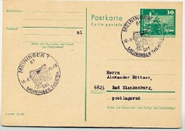 THEATER MEININGEN 1981 Auf  DDR  Postkarte P 79 - Théâtre